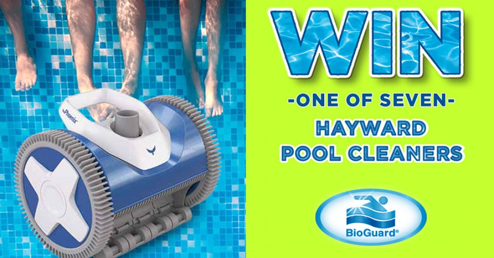 Win a Hayward Pool Cleaner