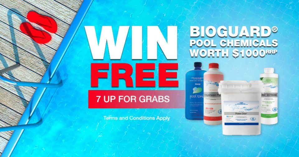 Win $1000 Pool Chemicals